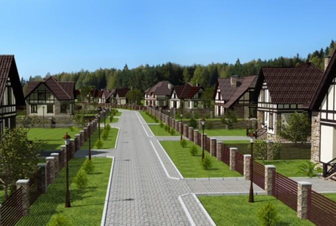 Земельные участки в коттеджном поселке
